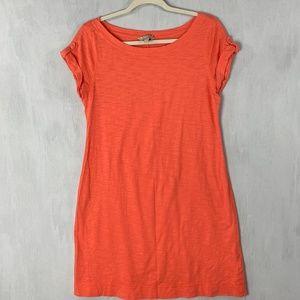Banana Republic Orange Shirt Dress